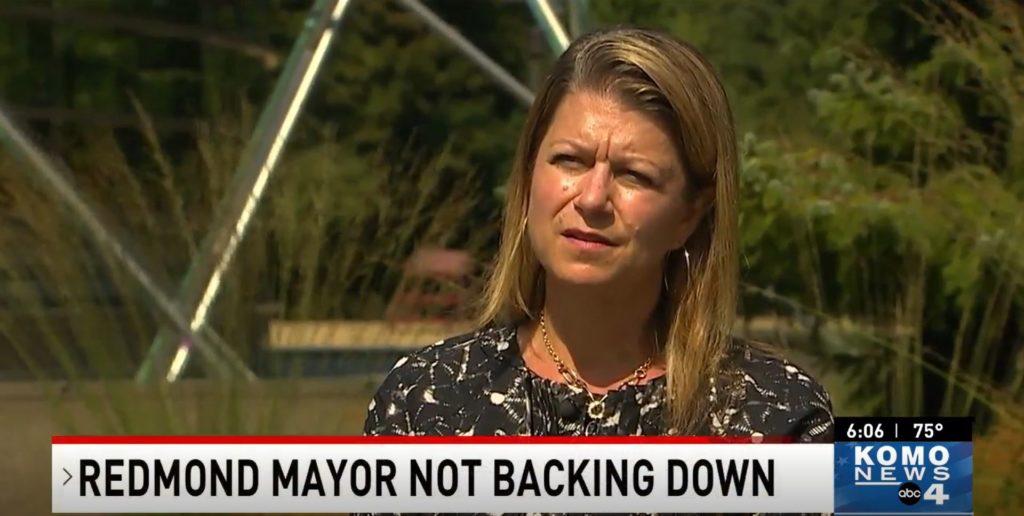 Redmond Mayor Speaks Out